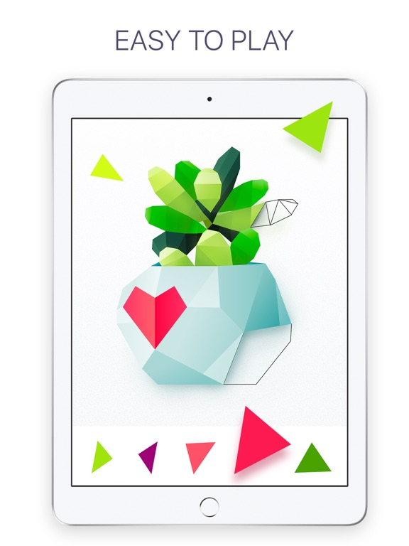 Poly: Coloring Puzzle Art Book screenshot 8