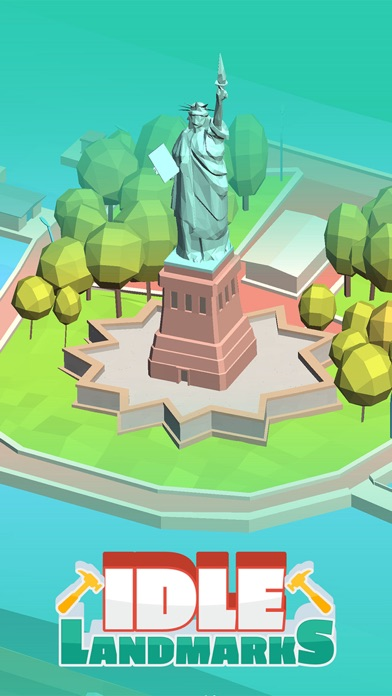 Idle Landmarks screenshot 1