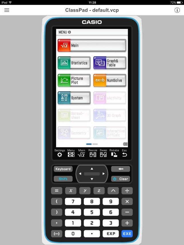 CASIO ClassPad on the App Store