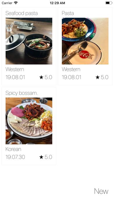 Food Diary - Photo & Story screenshot 3