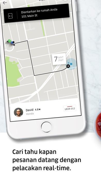 Screenshot for Uber Eats: Pengantaran Makanan in Indonesia App Store