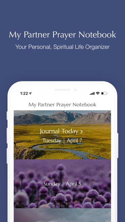 My Partner Prayer Notebook