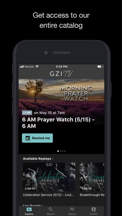 GZI TV screenshot 2