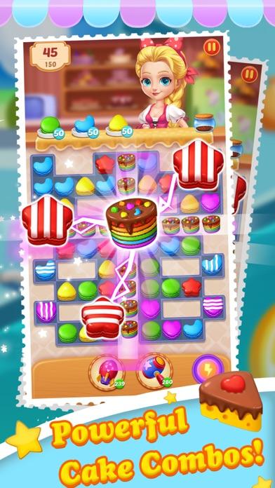 Cake Jam Drop - New Match Game screenshot 2