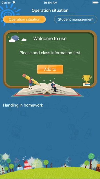 class homework management screenshot #5