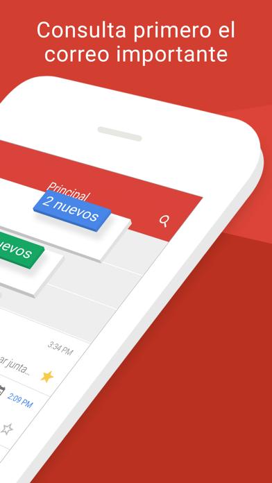 Screenshot for Gmail: El correo de Google in Peru App Store