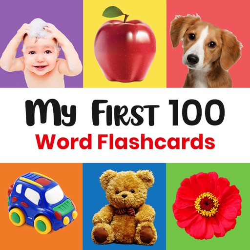 My First 100 Word Flashcards