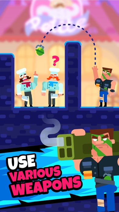 Gun Guy - Bullet Puzzles screenshot 2