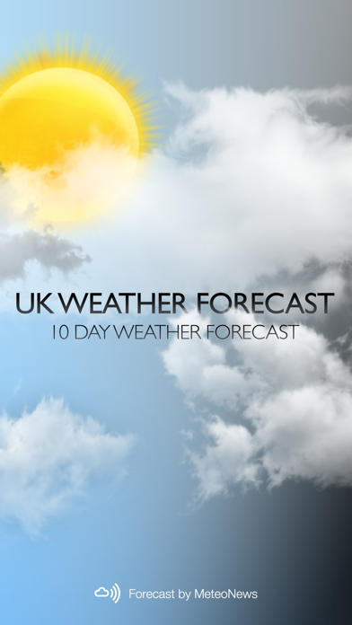 UK Weather forecastのおすすめ画像1