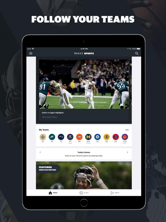 Screenshot #4 pour Yahoo Sports: Watch Live NFL