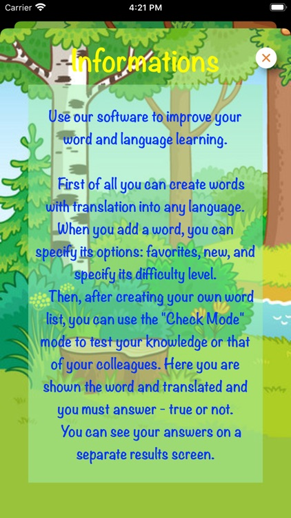 Check the correct translation screenshot-7