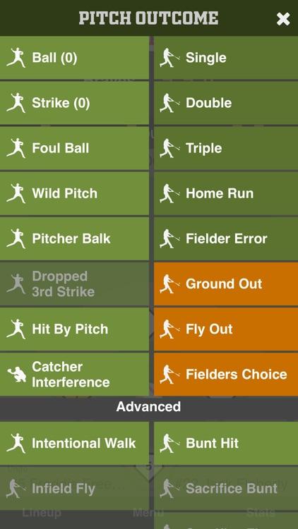 Full Count Baseball Scoring screenshot-3