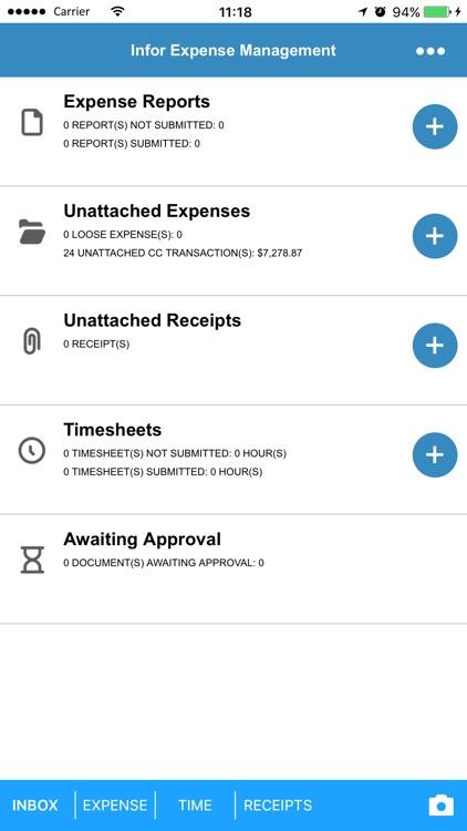 Infor Expense Management screenshot-3