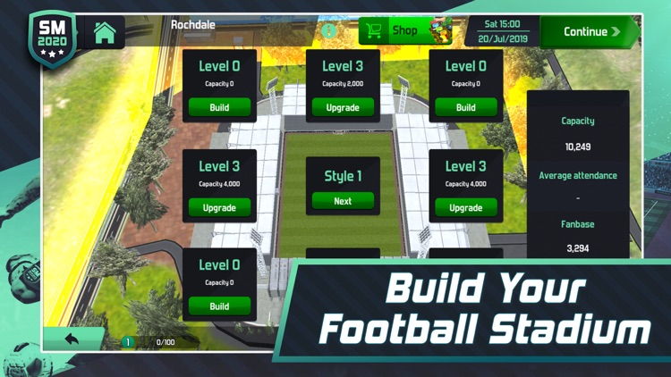 Soccer Manager 2020 screenshot-3