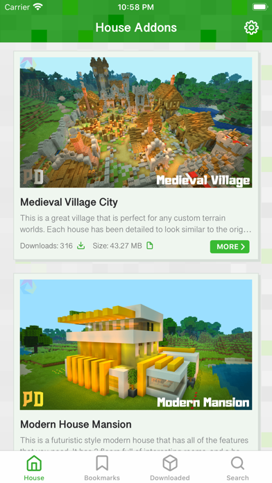 messages.download House Addons for Minecraft PE software