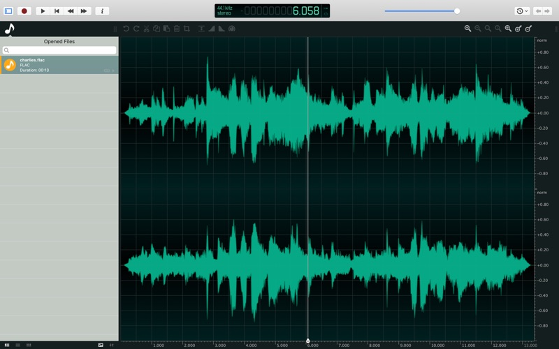 ocenaudio Lite for Mac