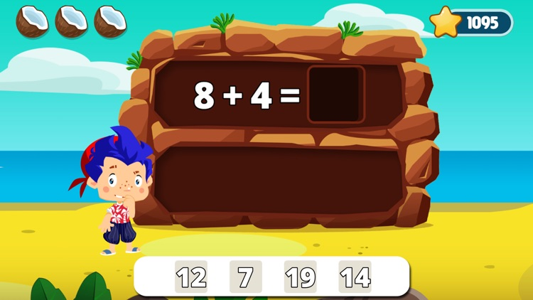 Math learning games for kids 1 screenshot-0