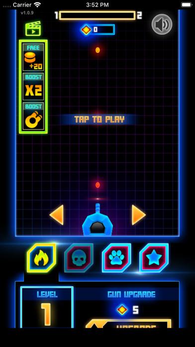 Neon Blaster Shooter screenshot 2