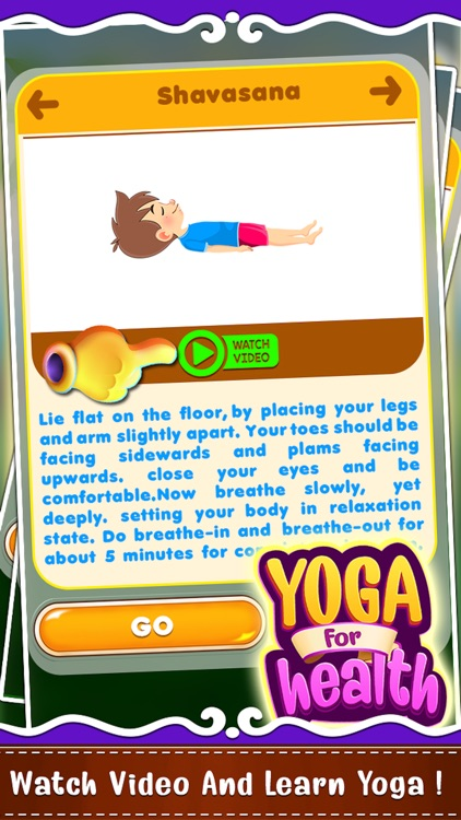 Yoga For Health Game screenshot-8