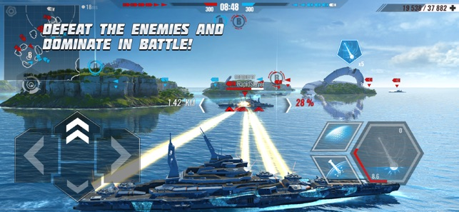 Hack Game Pacific Warships: War Shooter ipa free