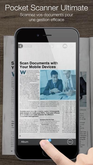 Screenshot for Pocket Scanner Ultimate in Lebanon App Store