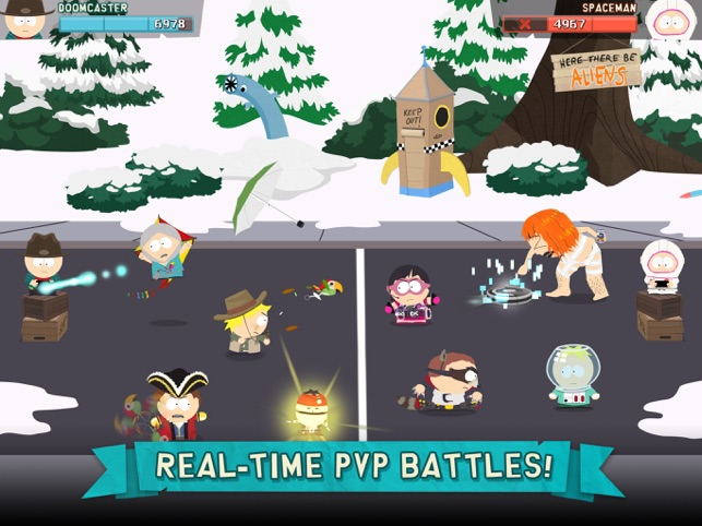 ‎South Park: Phone Destroyer™ Screenshot