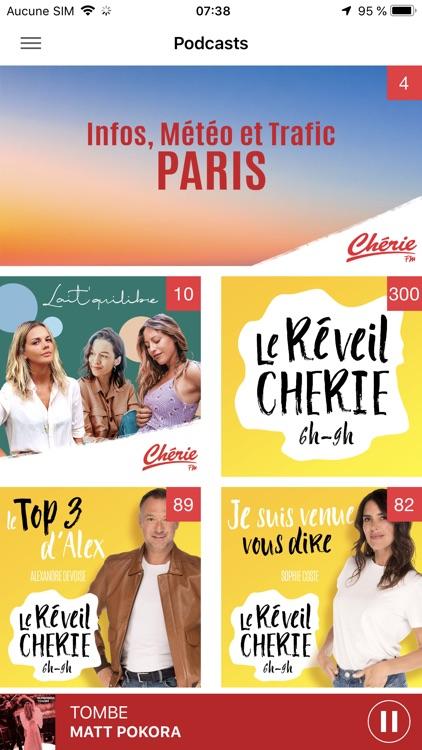 Chérie FM Radio screenshot-5