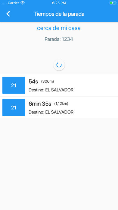 Espera Bus Madrid screenshot 5