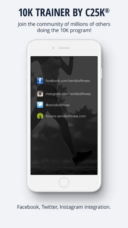 10K Trainer by C25K® screenshot-3