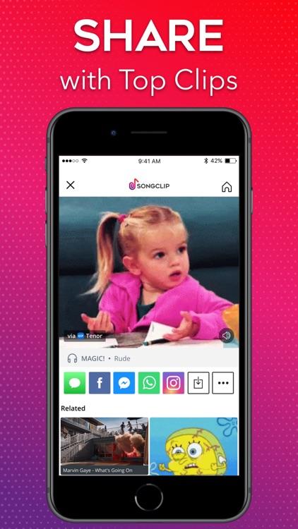 Songclip - Add Music to GIFs screenshot-3