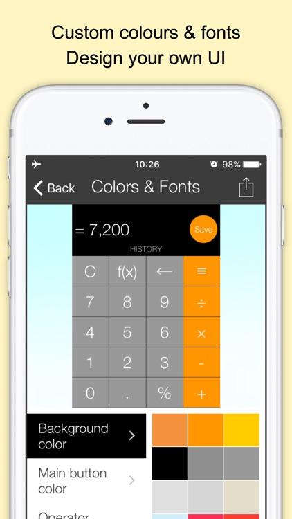 Xmart Calculator Mini screenshot-6