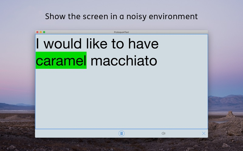 Proloquo4Text for Mac