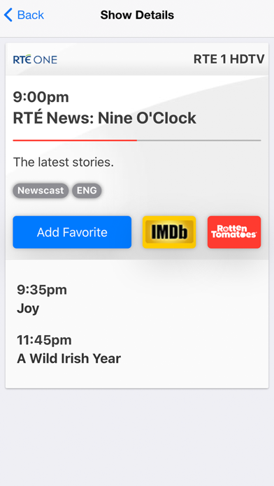 TV Guide Ireland screenshot two