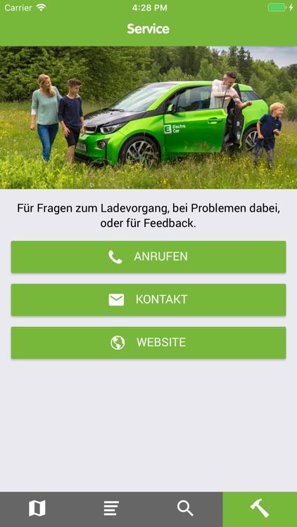 Emobil-Ladestellen screenshot-3
