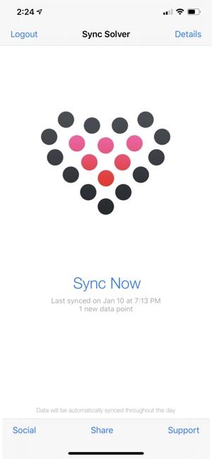 Sync Solver Fitbit To Health Su App Store