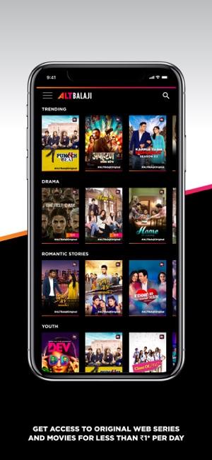 ALTBalaji – Original Webseries on the App Store