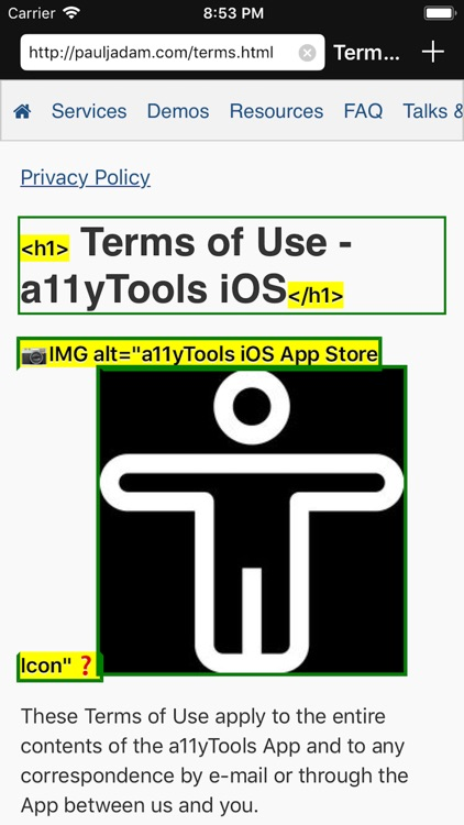 a11yTools - Web Accessibility screenshot-6