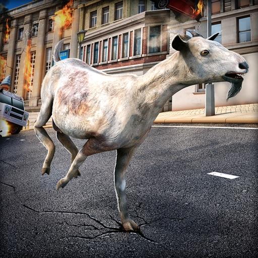 злой козел . бесплатные Коза овца симулятор гонка игра 3д