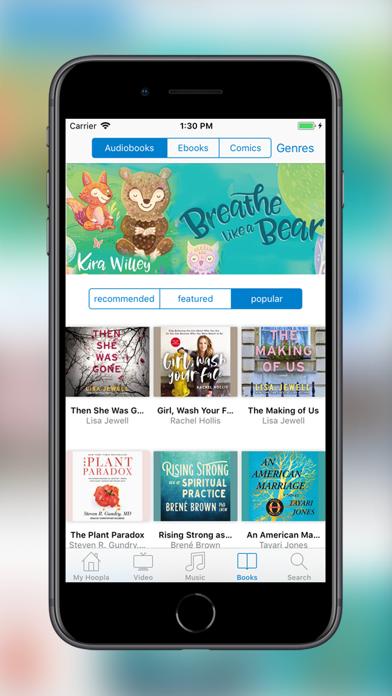 Screenshot for Hoopla Digital in Canada App Store