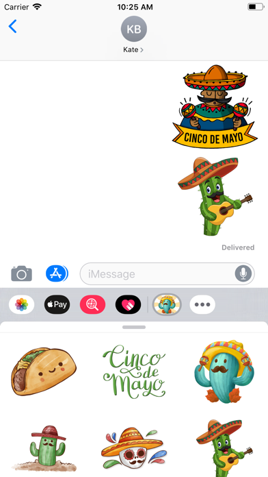 Cinco De Mayo Time Stickers Screenshot