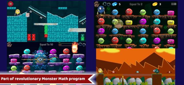 Maths Rescue Year 3, 4,5 Games Screenshot
