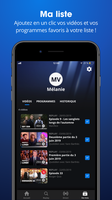 download MYTF1 apps 5