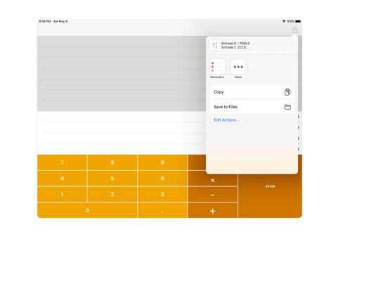 Calculadora RPN screenshot 6
