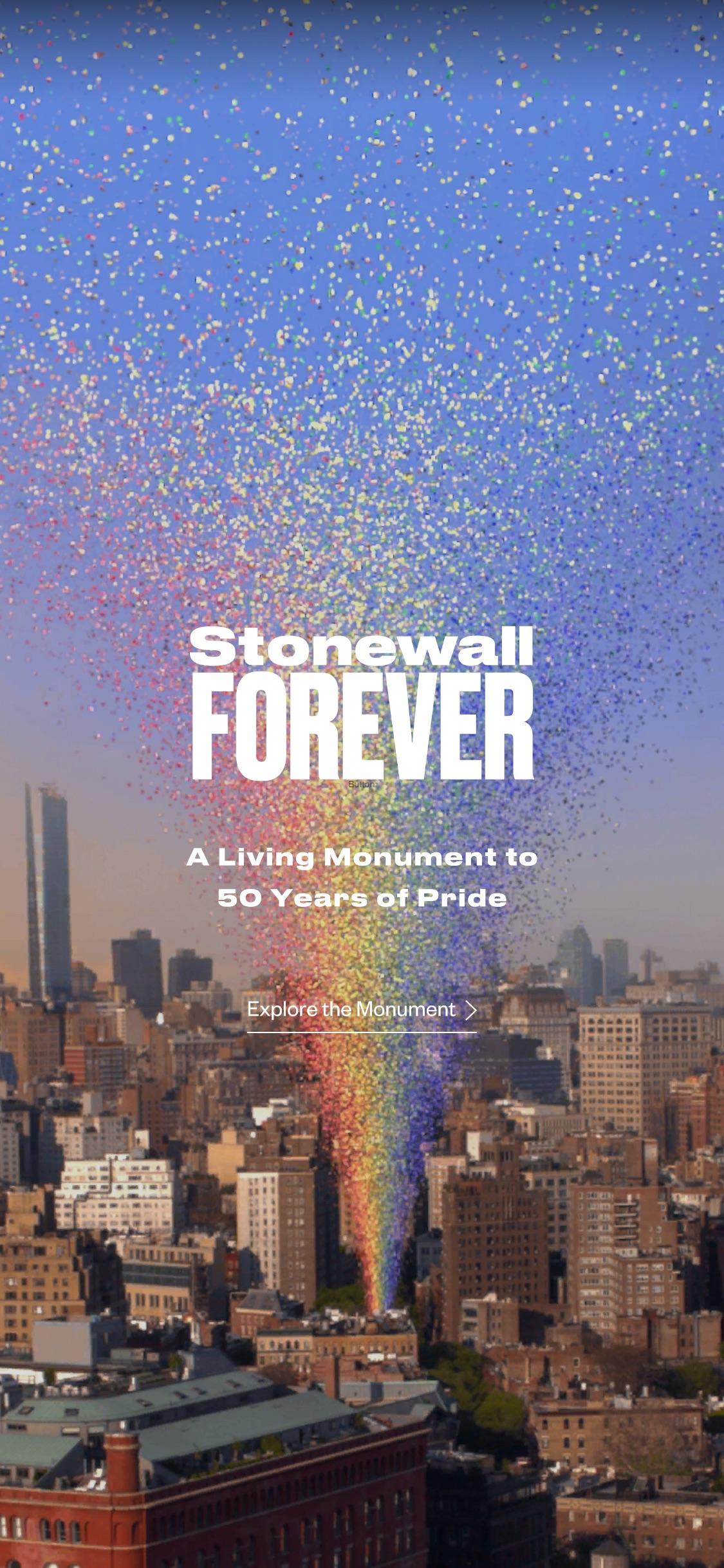 Screenshot do app Stonewall Forever