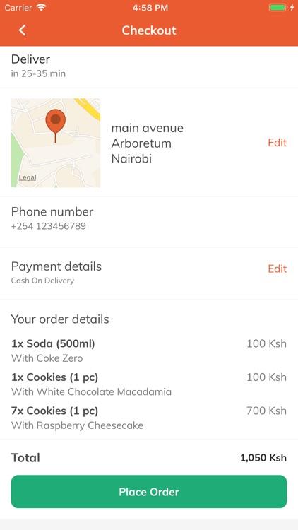 Jumia Food - Food delivery screenshot-6