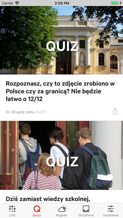 Gazeta.pl LIVE screenshot three