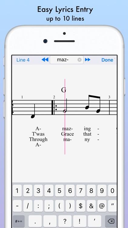 iWriteMusic screenshot-4