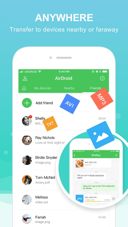 AirDroid - File Transfer&Share screenshot-3
