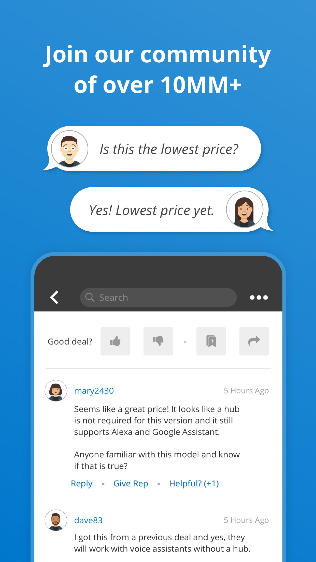 Slickdeals: Save with Coupons Screenshot