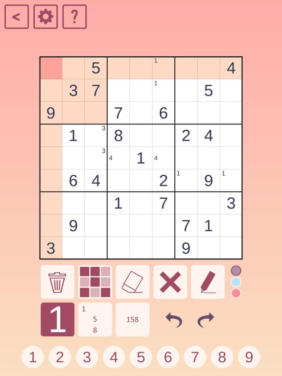 Classic Sudoku! screenshot 3